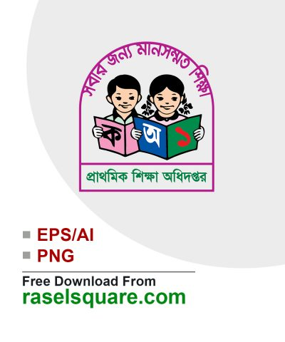 Bangladesh primary education vector logo