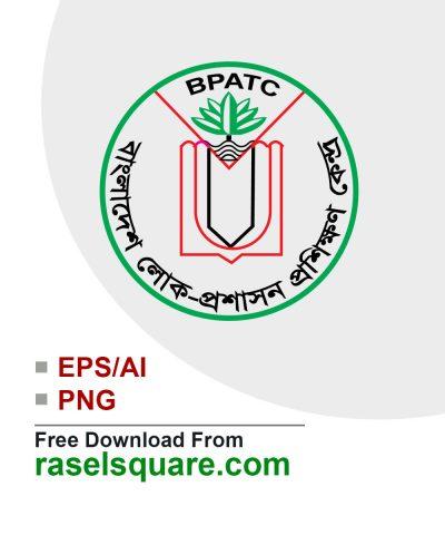 Bangladesh public administration training center vector logo
