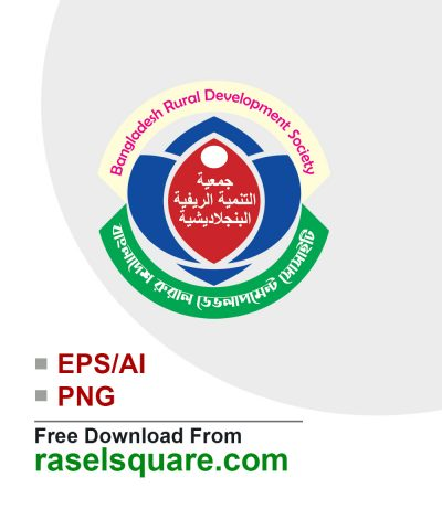 Bangladesh rural development society vector logo