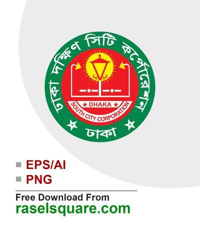 Dhaka South city corporation vector logo